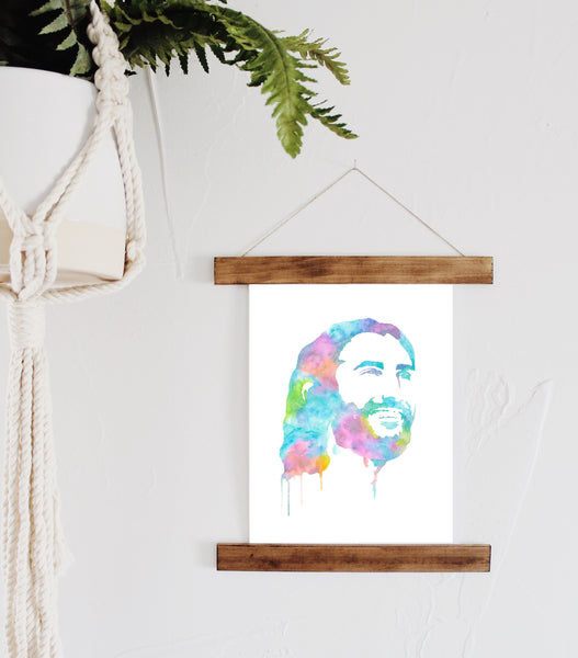 Jesus Christ the Savior {pastel tones}