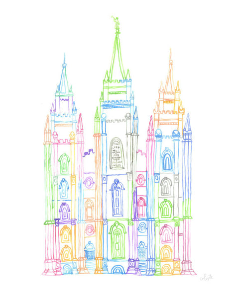 Salt Lake City, Utah LDS Temple (2)