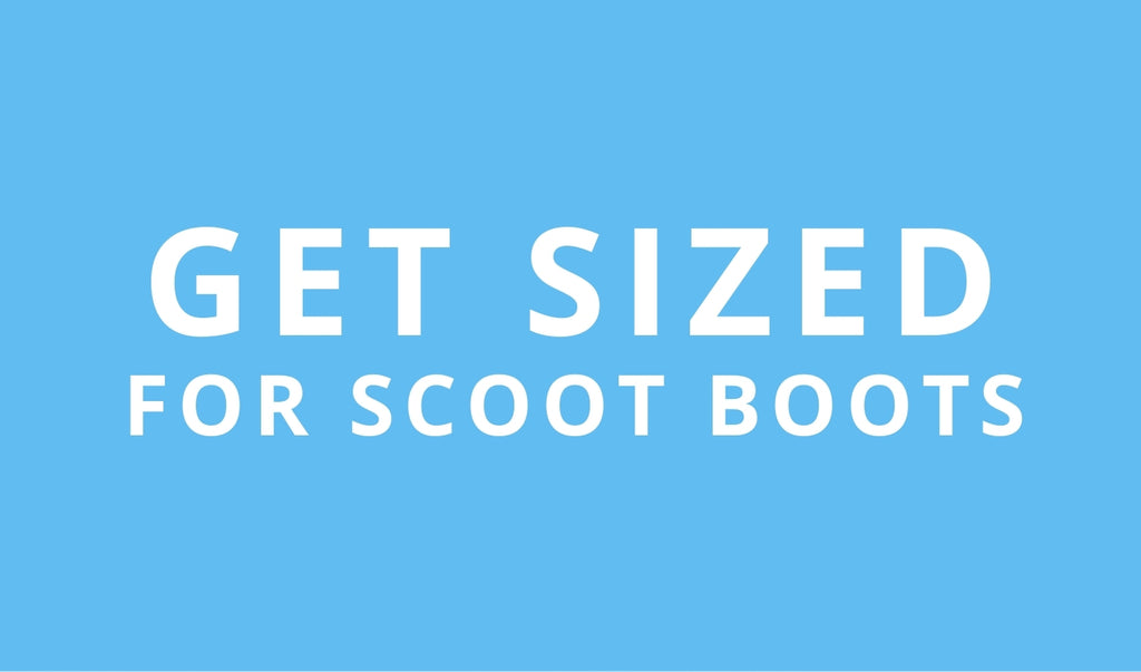 Get sized button Scoot Boots