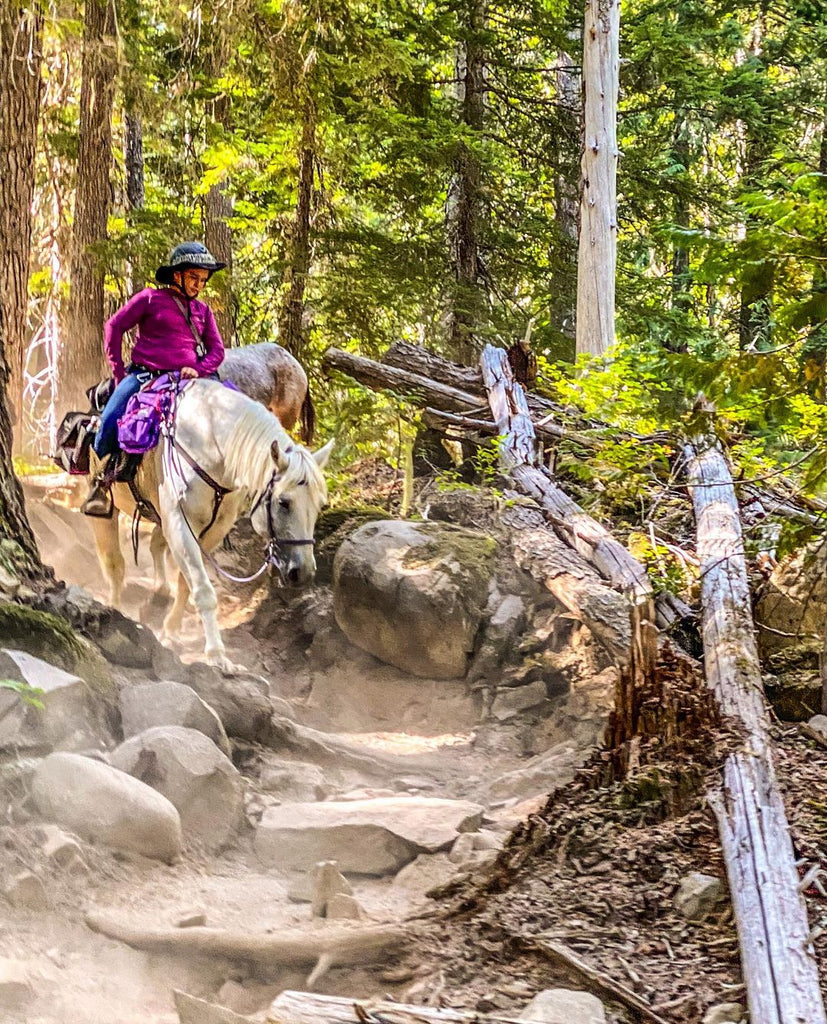 Riding Around the American Trails in Scoot Boots
