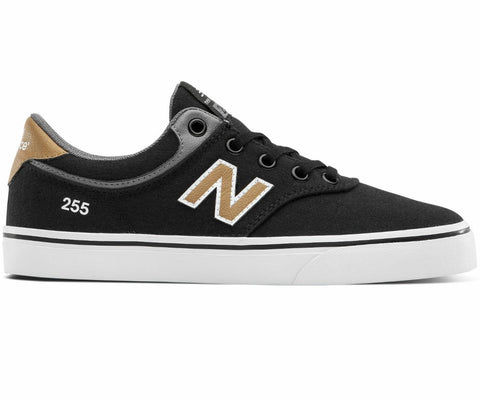 New Balance Shoes Kids 255 - Black/Brown