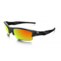 Oakley Sunglasses Flak Jacket XLJ - Polished Black/Fire Iridium