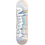 "Almost Vibrate Logo HYB Deck - 8.5"" White"