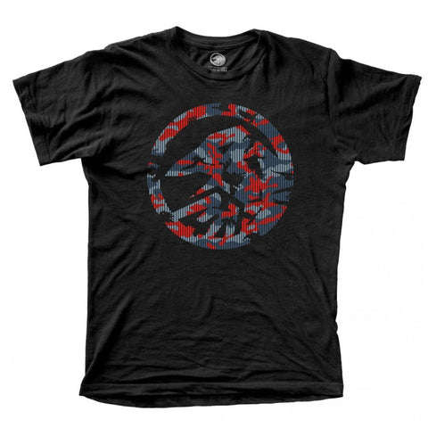 Shadow Conspiracy BMX Crow Camo T-Shirt - Black