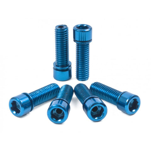 Shadow Conspiracy BMX Hollow Bolts - Blue