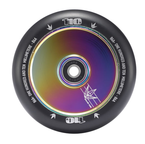 Envy Scooter Wheel Hollow Core 110mm - Oil Slick (Pair)