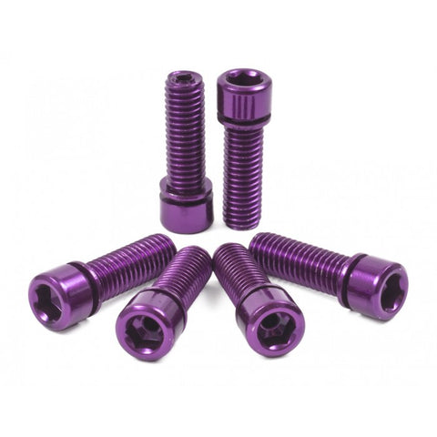Shadow Conspiracy BMX Hollow Bolts - Purple