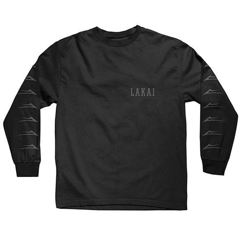 Lakai Flared LS Tee - Black