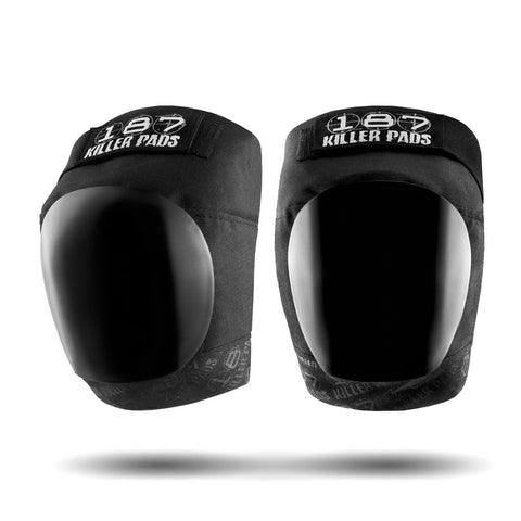 187 Pro Knee Pads - Black/Black - Skates USA