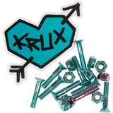 "Krux Krome Hardware 1"" Phillips - Blue/Pink"