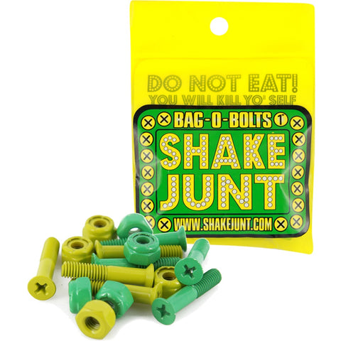 "Shake Junt Bag-O-Bolts 1"" Phillips - Green/Yellow"