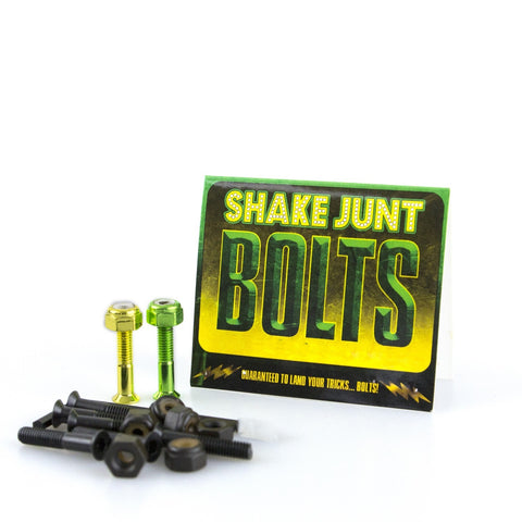 "Shake Junt Bag-O-Bolts 1"" Phillips - Black/Green/Yellow"