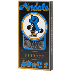 Andale Bearings Abec 7 -black - Skates USA