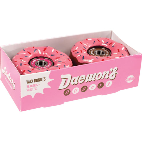Andale Daewon Song Donut Bearings & Wax - Pink