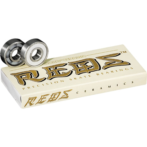 Bones Bearings Ceramic Super Reds (Set of 8)