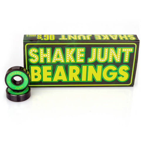Shake Junt 8mm OG's ABEC 5 Skateboard Bearings (8 Pack)