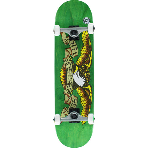 "Anti Hero Complete Skateboard Stained Eagle - 8.0"" Green"