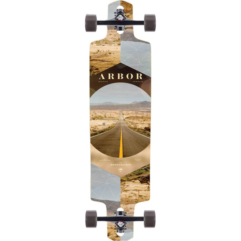 Arbor Photo Collection Dropcruiser Complete Longboard - 9.75""