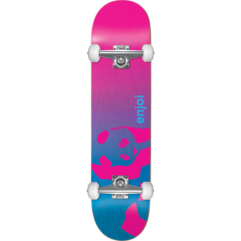 "Enjoi Complete Faded Panda 7.75"" - Blue/Pink"