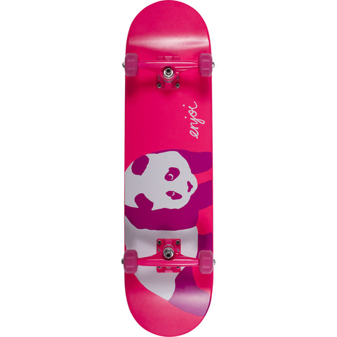"Enjoi Hi My Name Is Pinky Complete Skateboard 8"" - Neon Pink"