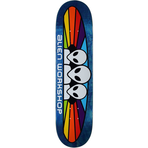"Alien Workshop Spectrum Mini Deck - 7.25"" Assorted Stain"