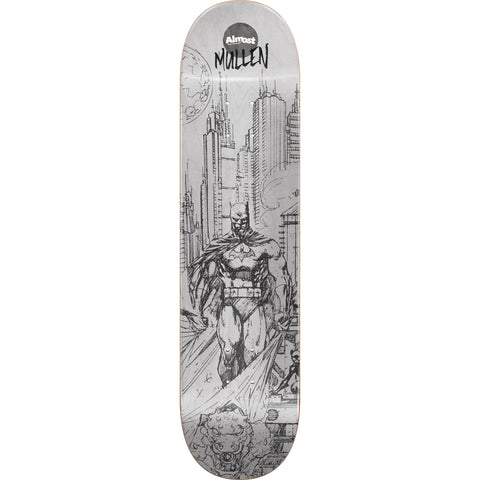 Almost Mullen Batman Pencil Sketch Deck - 8.0""