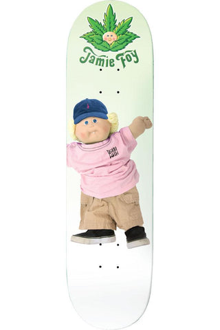 Deathwish Jamie Foy Cannapatch Kid Deck - 7.875""