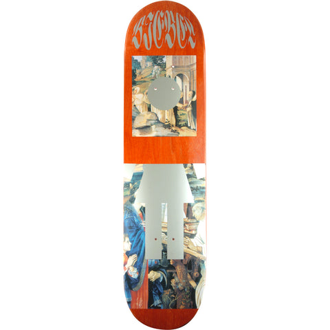 Girl Brandon Biebel Renaissance Skateboard Deck - 7.87""
