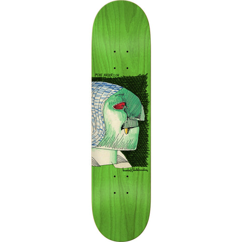 Krooked Mike Anderson Hyde Skateboard Deck - 8.06""