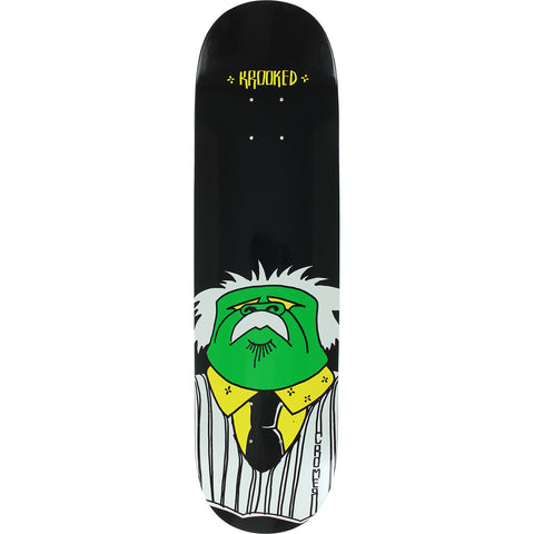 Krooked Brad Cromer Business Skateboard Deck - 8.06""
