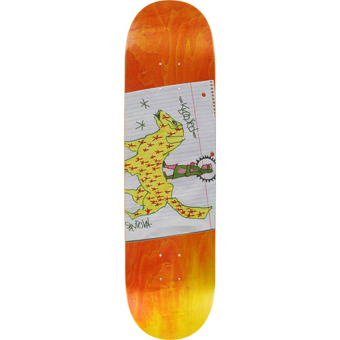 "Krooked Sandoval Nomad Deck - 8.6"" Orange/Yellow"