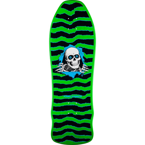 "Powell Peralta Geegah Ripper Skateboard Deck 9.75"" - Neon Green"