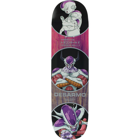 "Primitive X Dragon Ball Z Wade Desarmo Freiza Forms Deck - 8.0"" Purple"