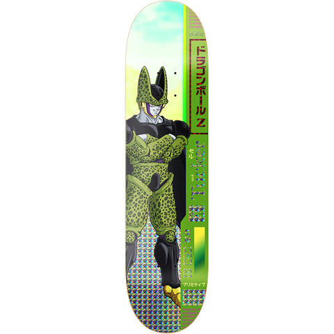 Primitive X Dragonball Z Nick Tucker Cell Deck - 8.0""