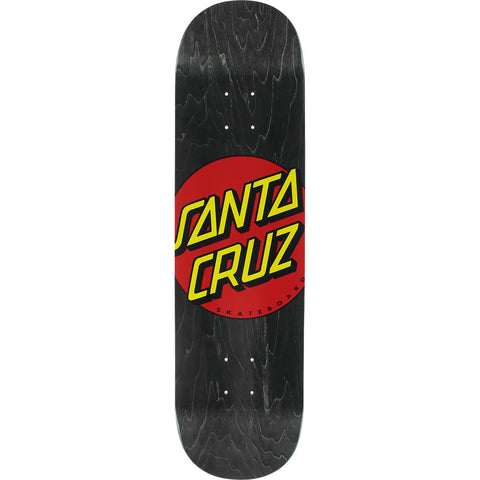 Santa Cruz Classic Dot Wide Tip Skateboard Deck - 8.25""