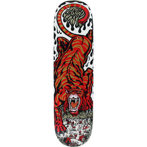 Santa Cruz Salba Tiger Skateboard Deck - 8""