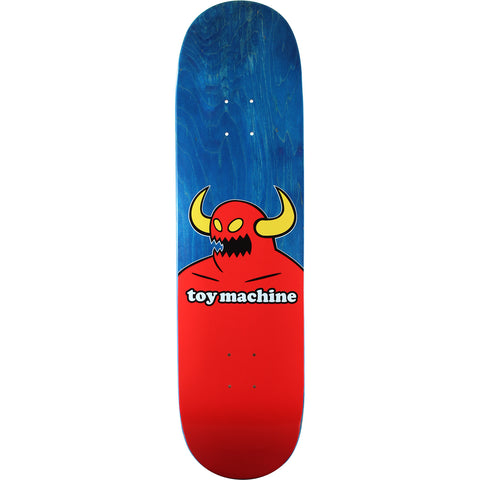 Toy Machine Monster Blue Stain Skateboard Deck - 8.5""
