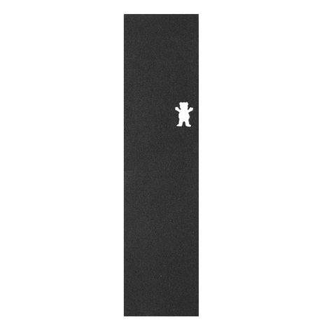Grizzly Griptape Cut-Out Single Sheet 9x33 - Black