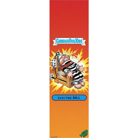 "Mob Garbage Pail Kids Electric Bill Single Sheet Griptape - 9""x33"""
