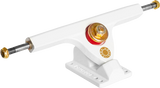 Caliber Trucks Fifty - white/gold 50 degree(pair) - Skates USA