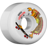 Bones Caballero SPF Dragon 60mm Wheels - White (Set of 4)
