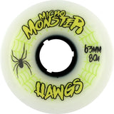 Hawgs Wheels Micro Monster 63mm 80a - White (Set of 4)