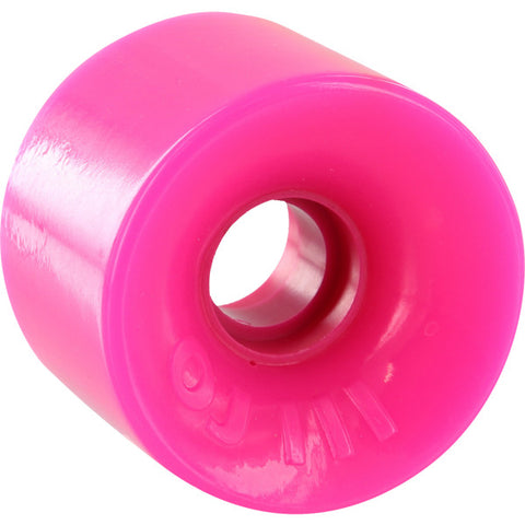 OJ Wheels Hot Juice Mini 60mm 78a - Solid Pink (Set of 4)