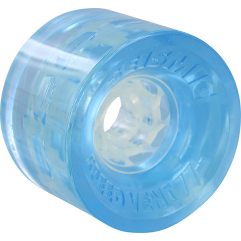 Seismic Speed Vent 77mm 77a Wheels - Clear Blue (Set of 4)