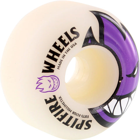 Spitfire Wheels Bighead 54mm 99a - White/Purple (Set of 4)