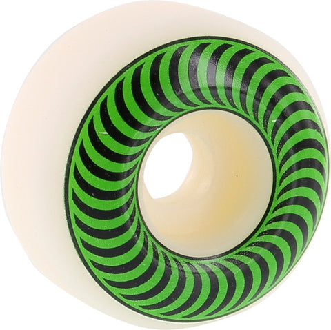 Spitfire Wheels Classic 52mm 99a - White/Green (Set of 4)