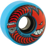 Spitfire Wheels 80HD Charger Classic 56mm - Blue/Red (Set of 4)
