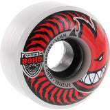 Spitfire Wheels 80HD Charger Classic 56mm - Clear/Red (Set of 4)
