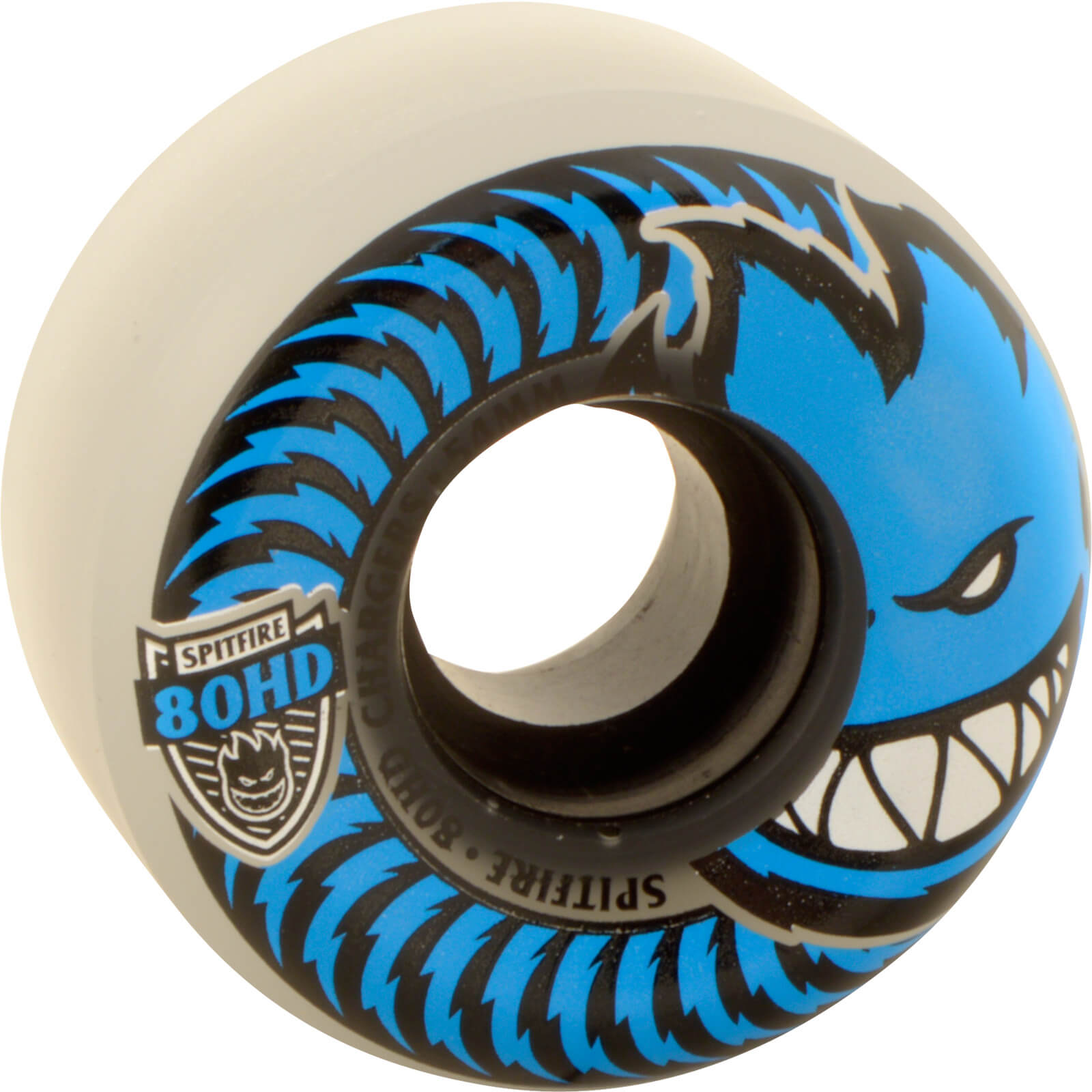 Spitfire Wheels 80hd Charger Conical 54mm - Clear/blue (set Of 4)
