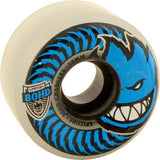 Spitfire Wheels 80HD Charger Conical 58mm - Clear/Blue (Set of 4)